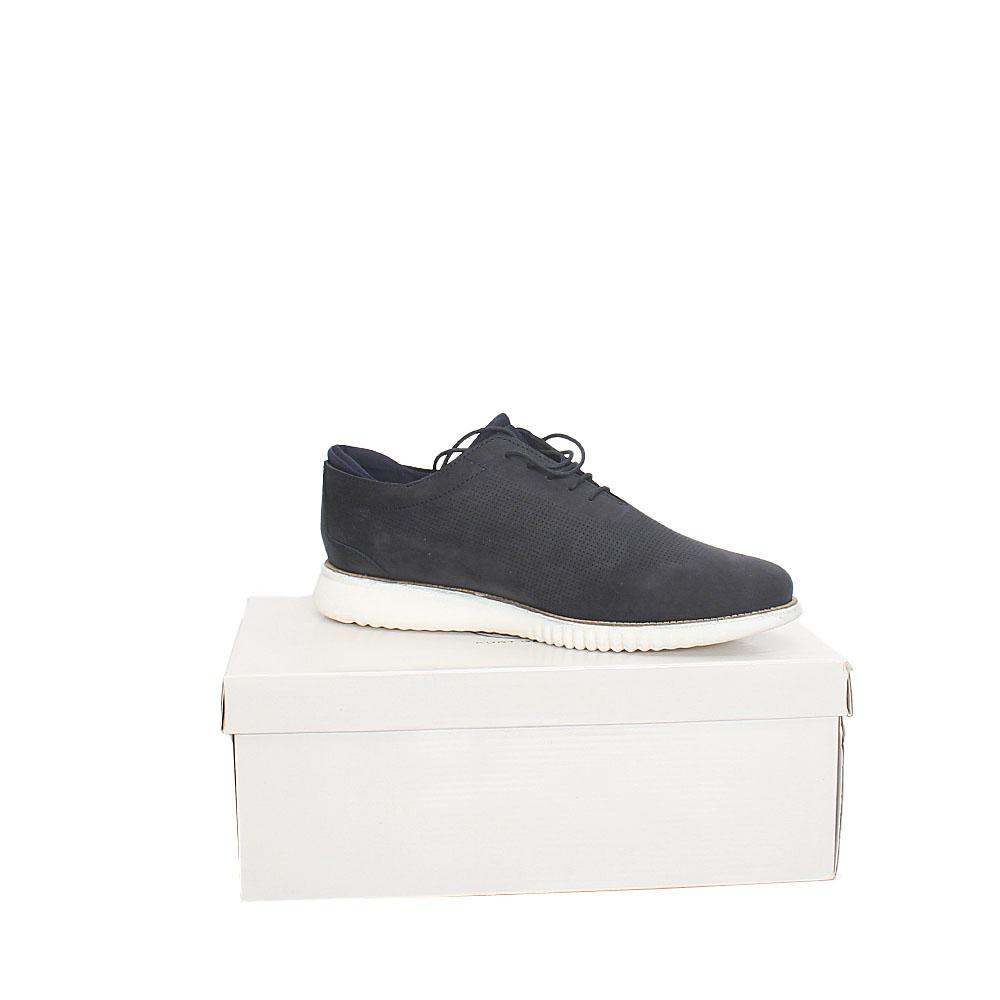 Kurt Geiger Beauly Navy Leather Comfort Fit Men Sneakers