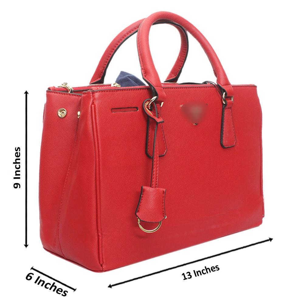Red-Leather-Medium-Galleria-Handbag