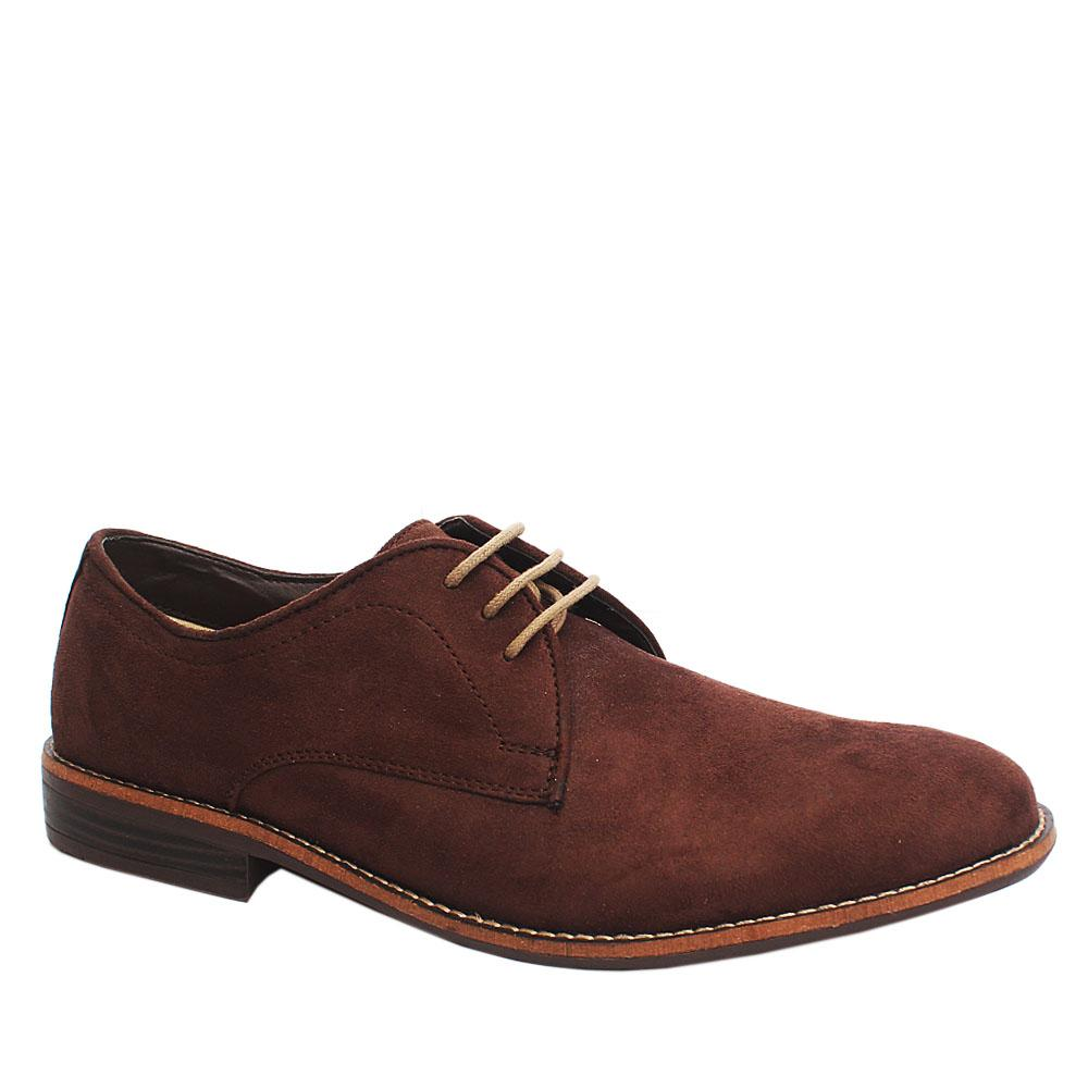M & S Essentials Brown Suede Leather Shoe