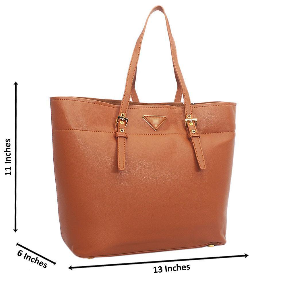 Brown Tuscany Leather Shoulder Handbag