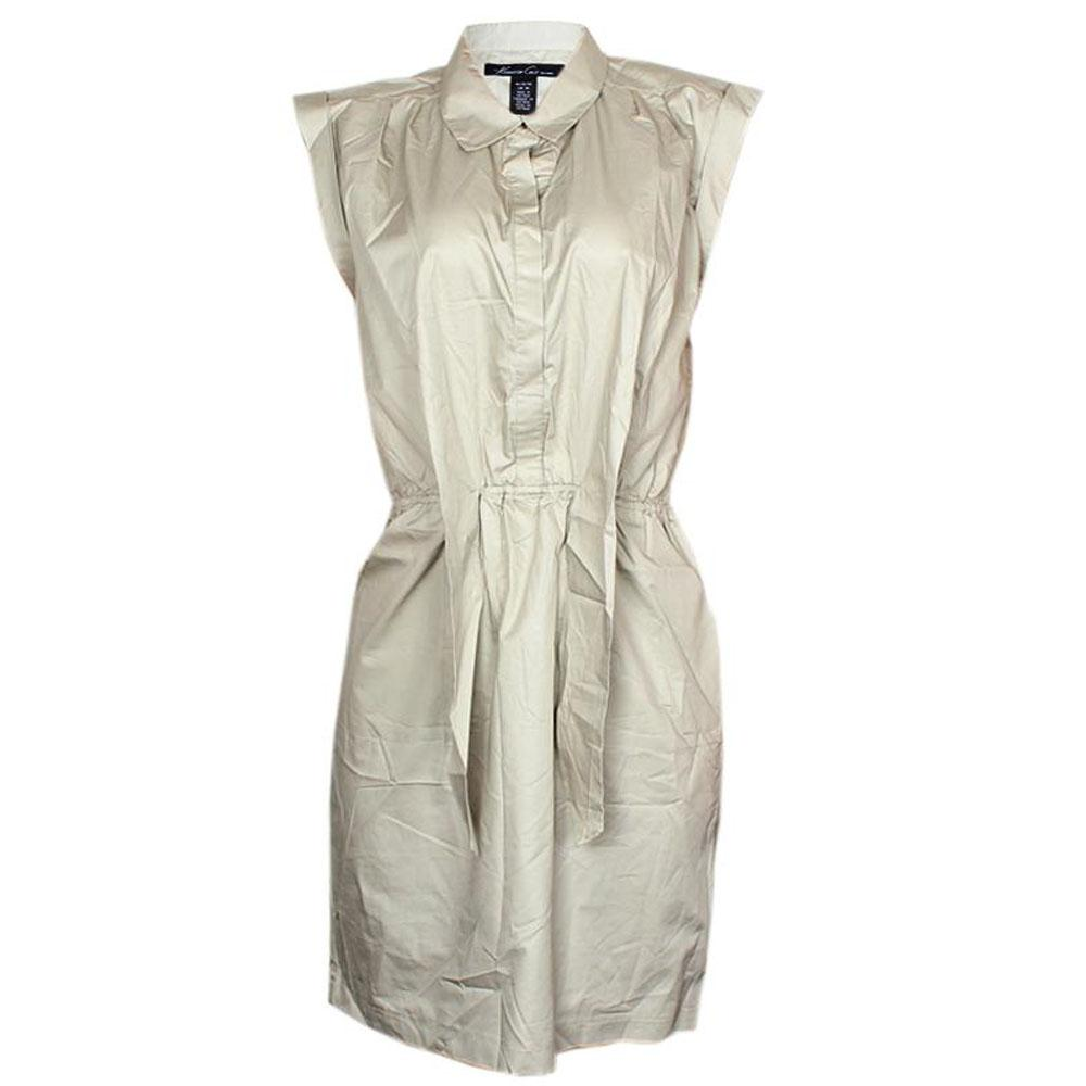 Kenneth Cole Beige Cotton Ladies Dress-M