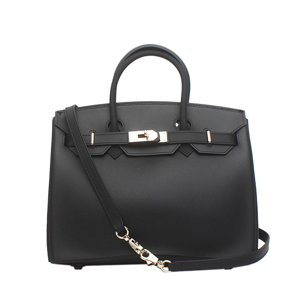 Birkin Black Rubber Bag
