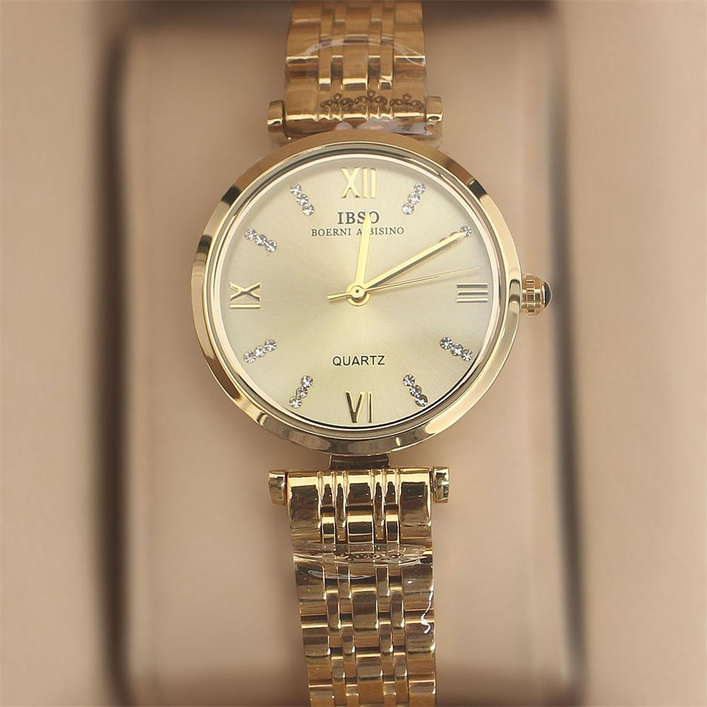 Swift Gold Stainless Steel Ladies Watch