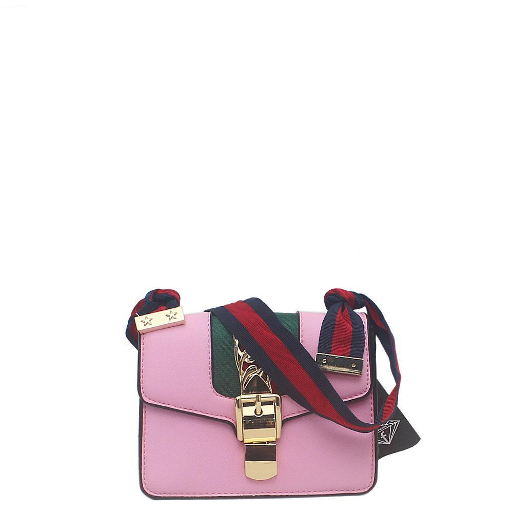Sophie Hulme Pink Leather Tote Bag