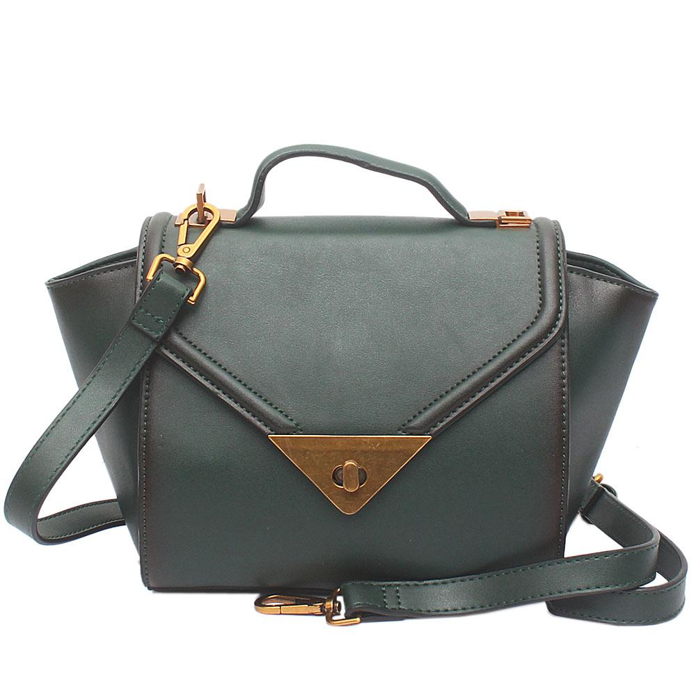 Sicily Green Leather Bag