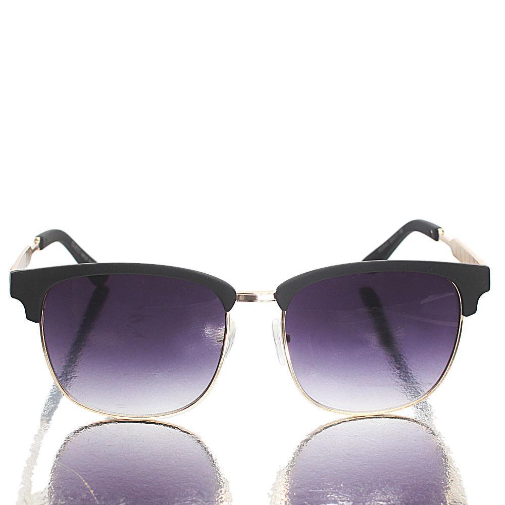 Gold Black Club-Master Sunglasses