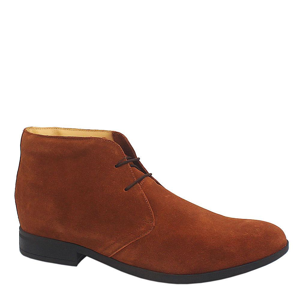 M & S Air flex Brown Suede Men Ankle Sho
