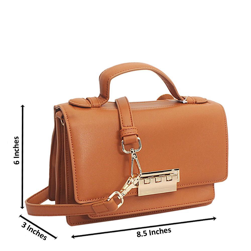 Brown Leather Mini Delightful Bag