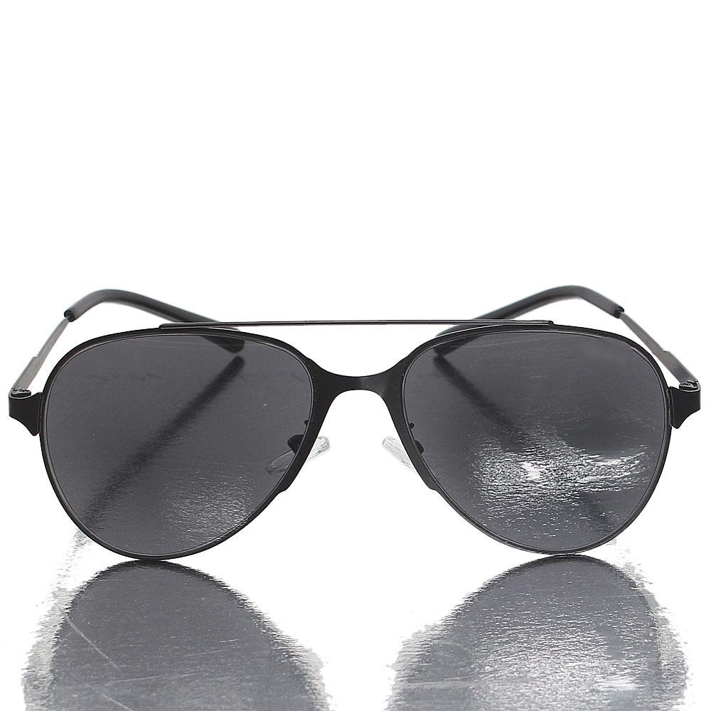 Ghost Black  Aviator Dark Lens Sunglasses