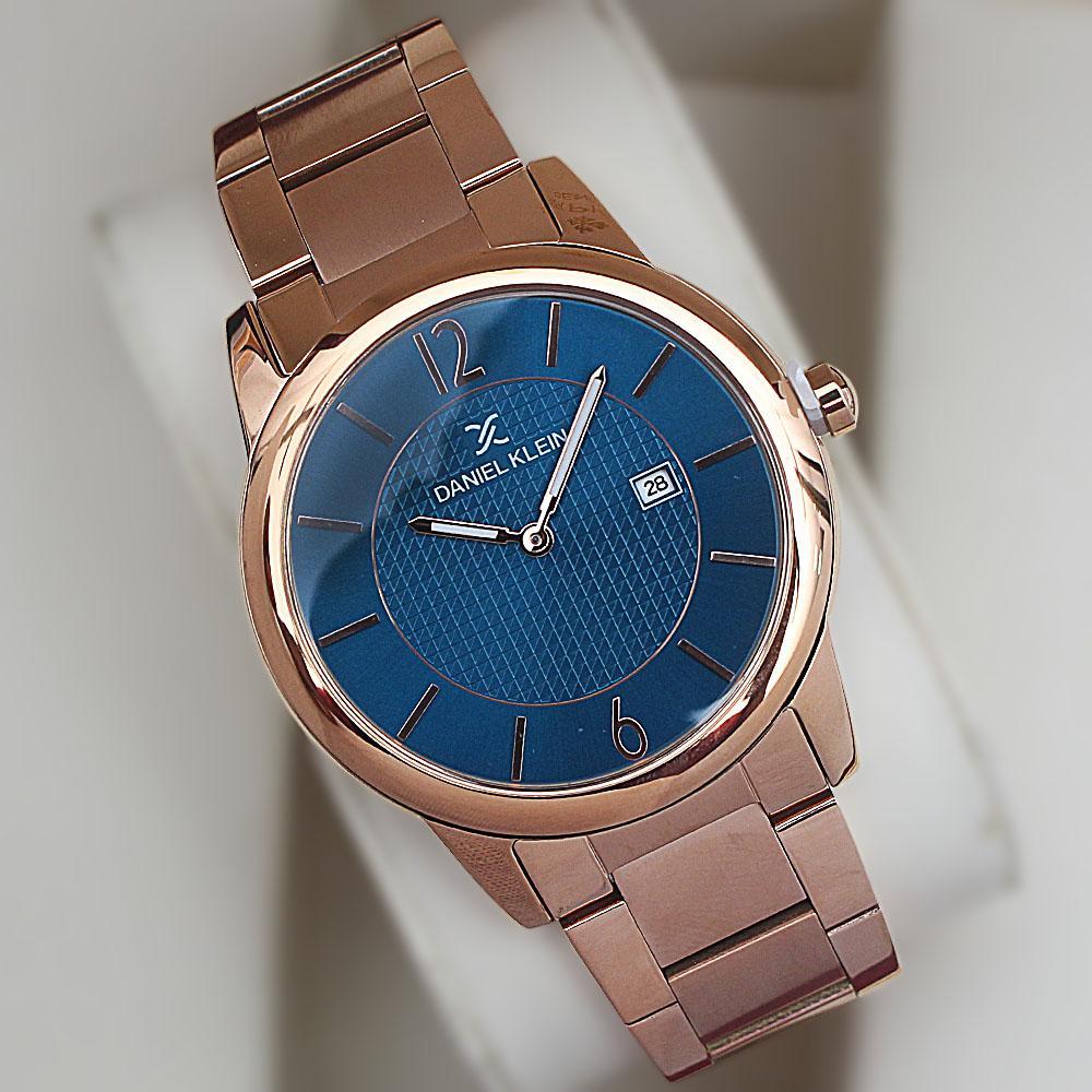 Daniel Klein Premium Sea Gold Steel Fashion Date Watch