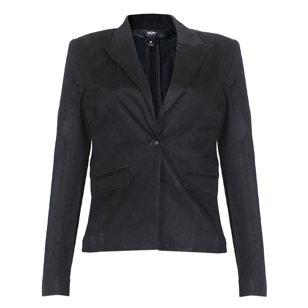 Black LongSleeve Ladies Jacket -M