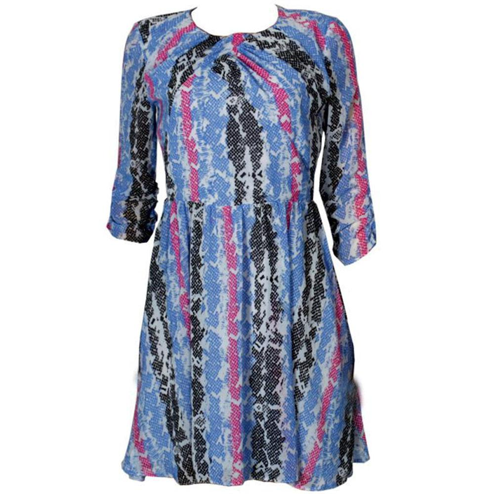 Limited Collection Multicolor Chiffon Ladies Dress