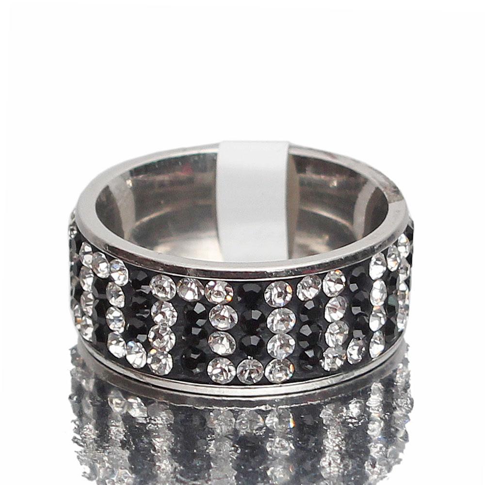 Tudor Silver Studded Ring