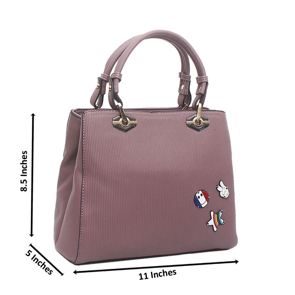 Lilac Ella Small Leather Handbag