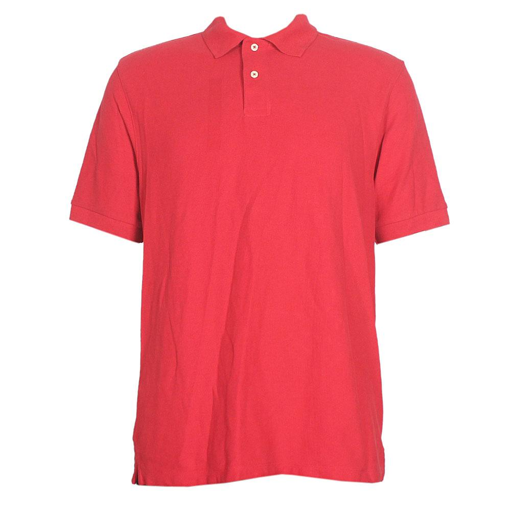 M&S Blue Habour Red S/Sleeve Men Polo