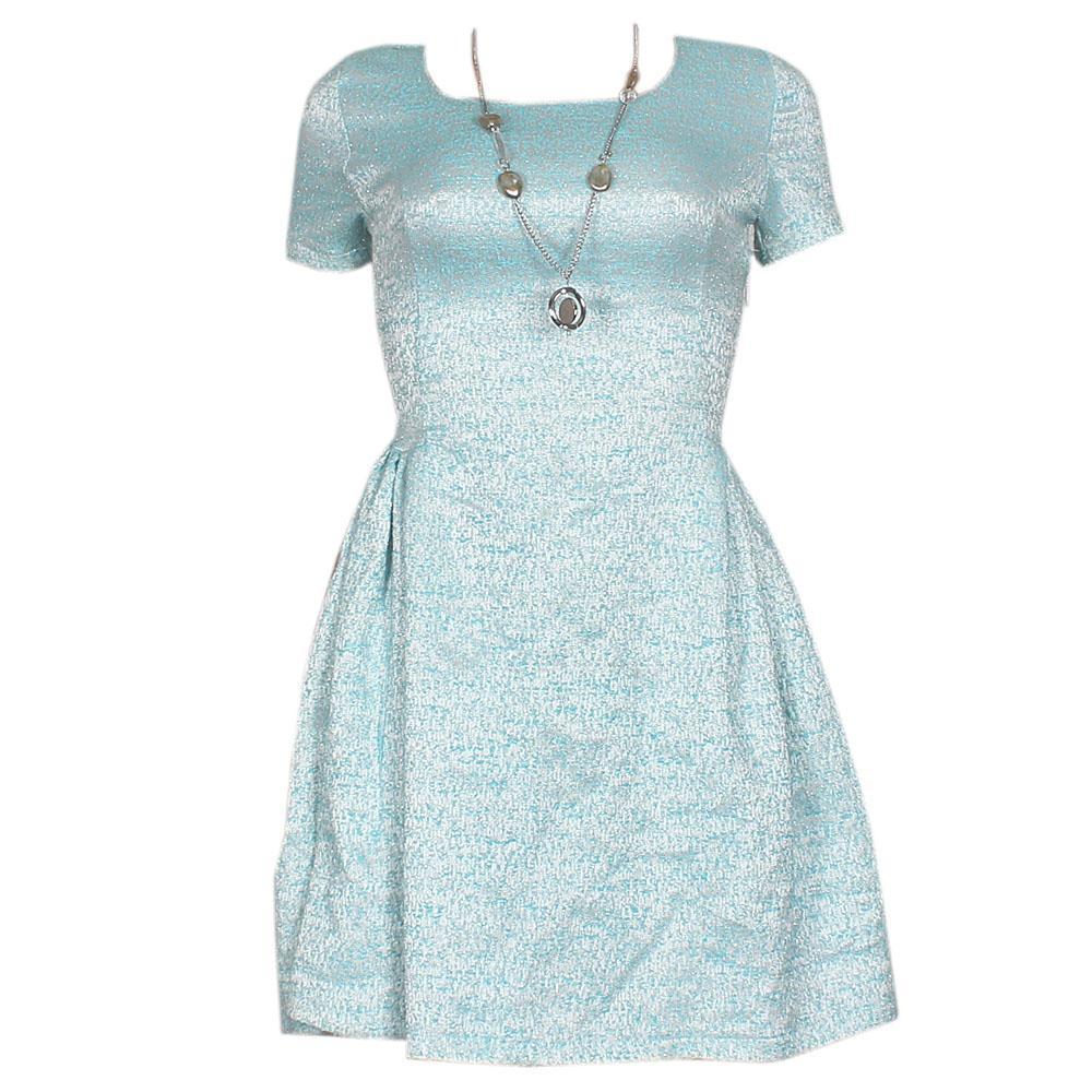Pion Blue Woven Designed Cotton  Wt -UK 8/33