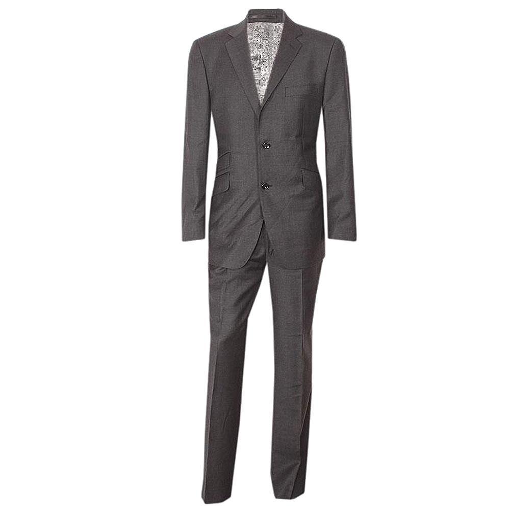 Austin Reed Dark Gray Men Suit Wt Cashmere -40R