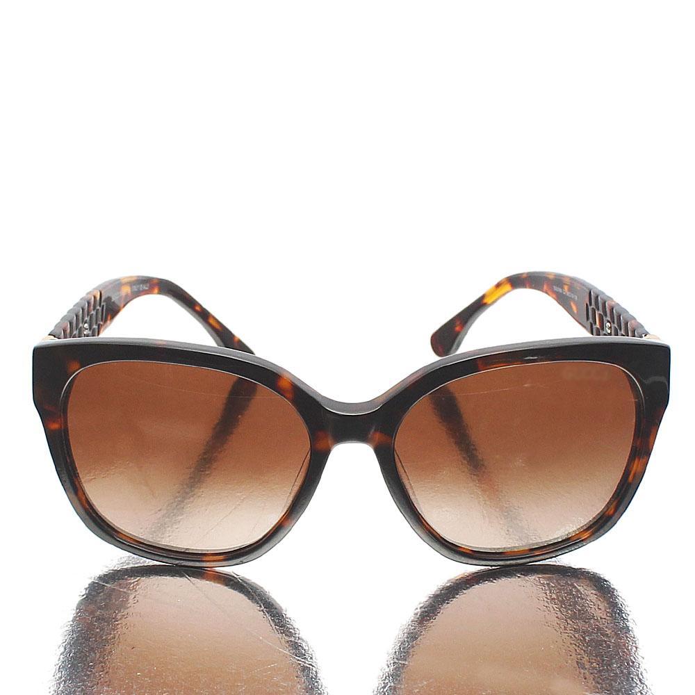 Brown Oblong Sunglasses