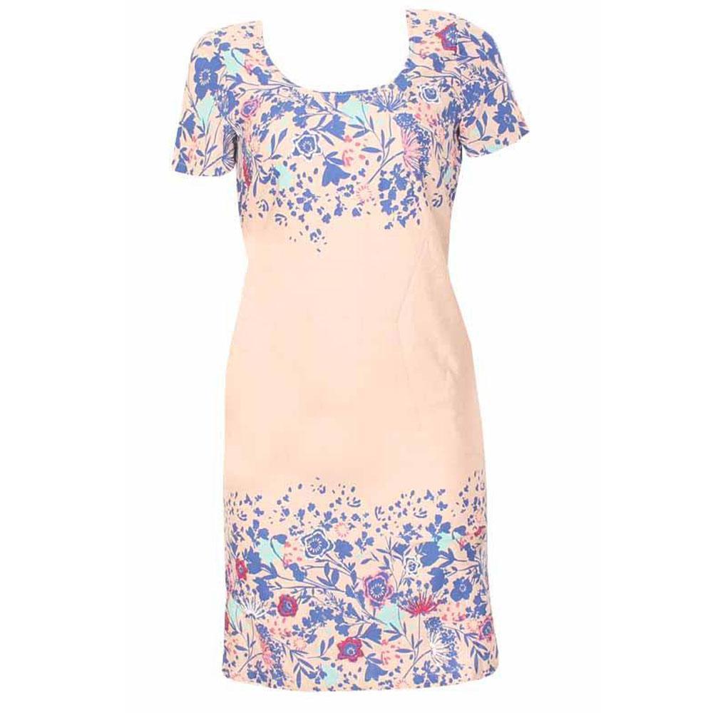 M&S Peruna Multicolor Cotton Ladies Dress-Uk 10