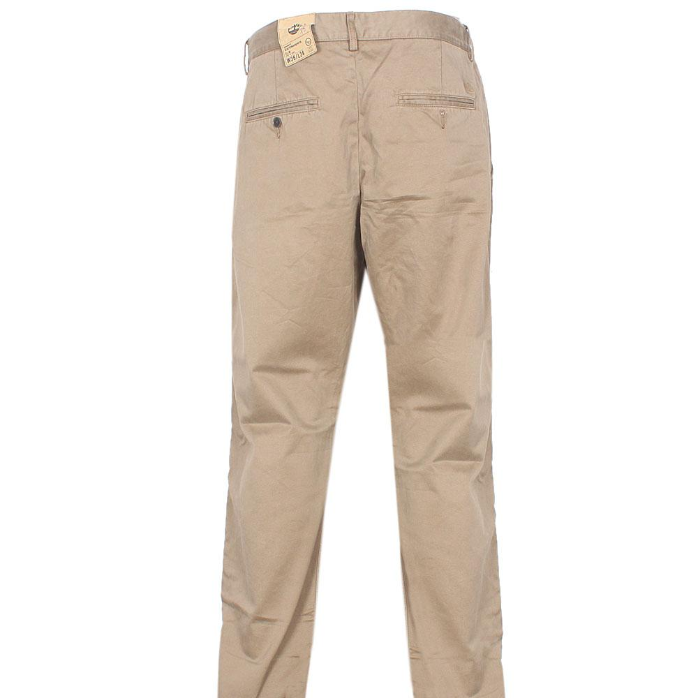 Timberland Khaki Brown Straight Cut Men Chinos