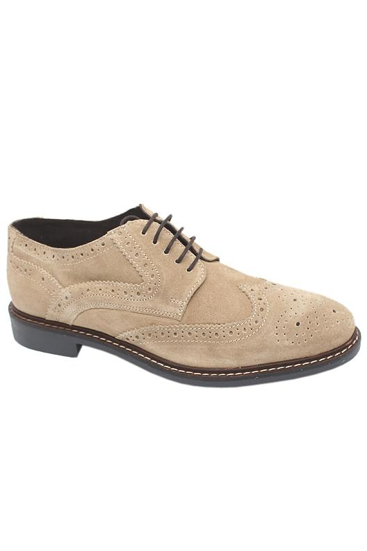 Collection Gray Men Brogue Shoe