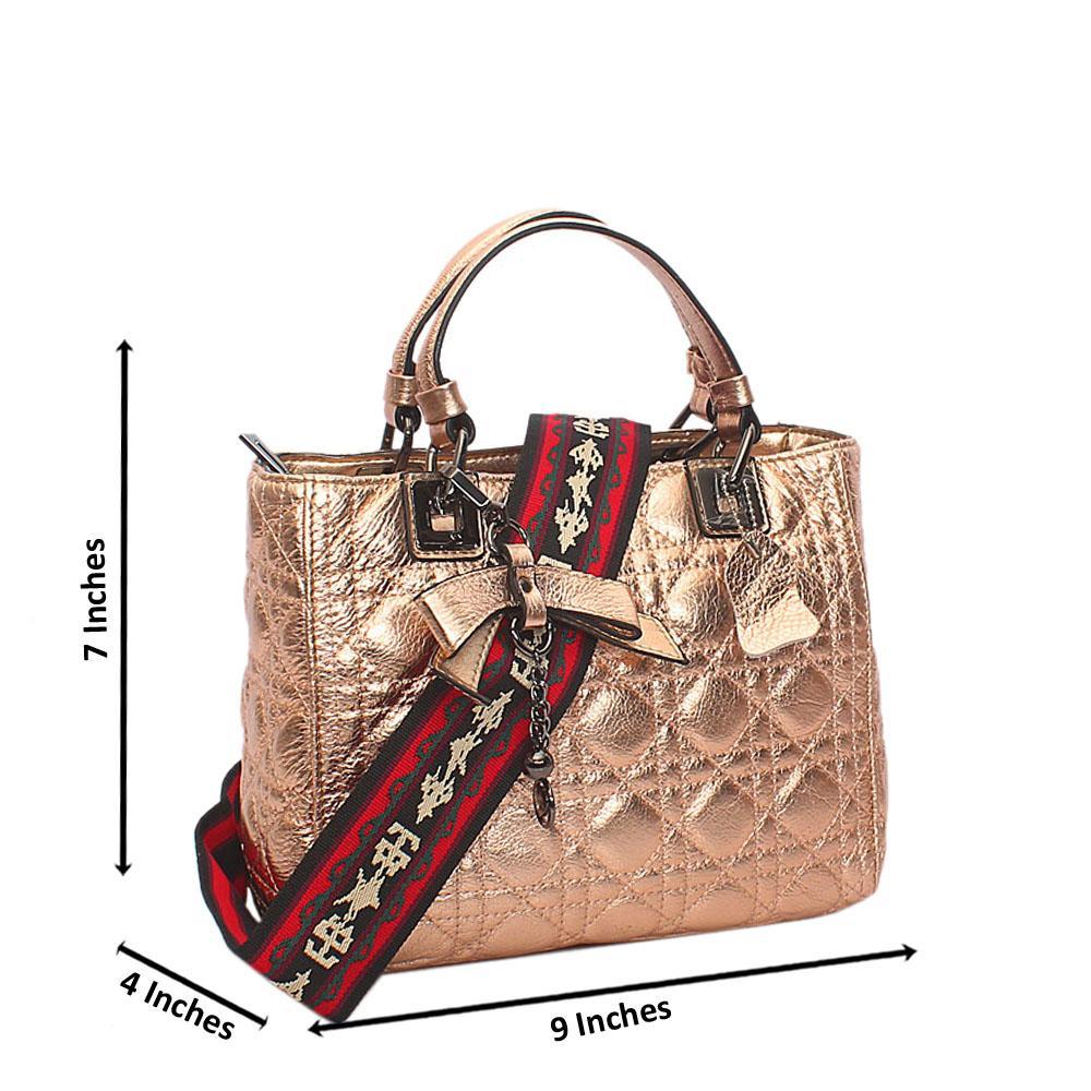 Rosegold Everyday Girl Tuscany Leather Handbag