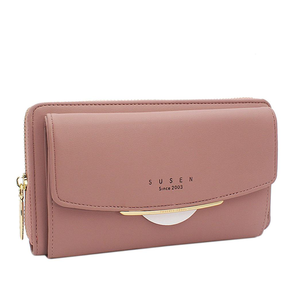 Susen-Lilac-Panamera-Leather-Ladies-Wallet