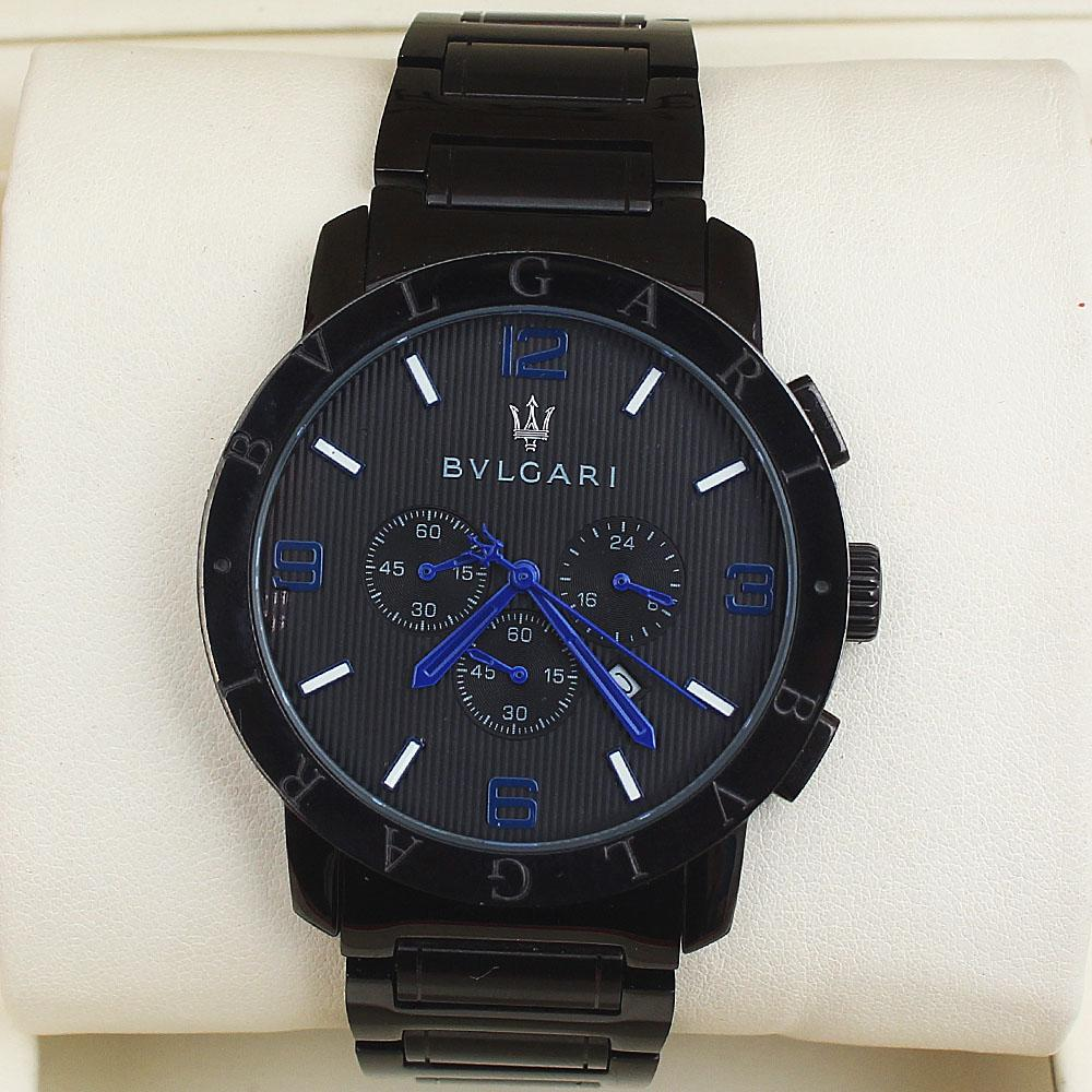 Black Men Chronograph Watch-
