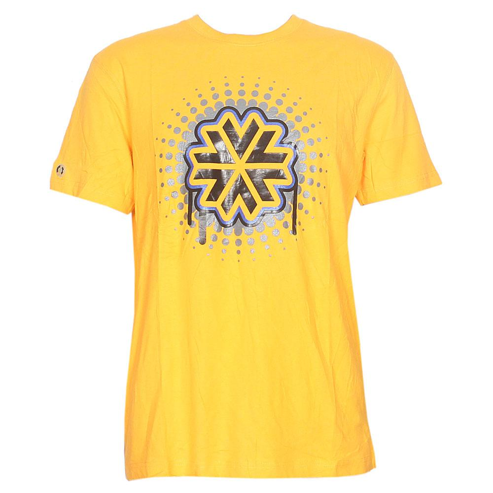 Superday Yellow Graphic Print Men T-Shirt