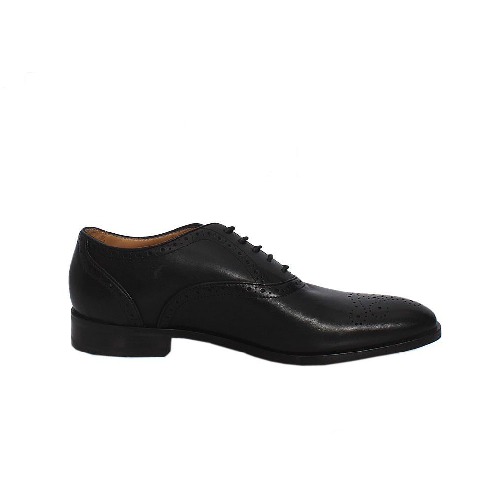 M & S Autograph Black Leather Lace up Men Shoe