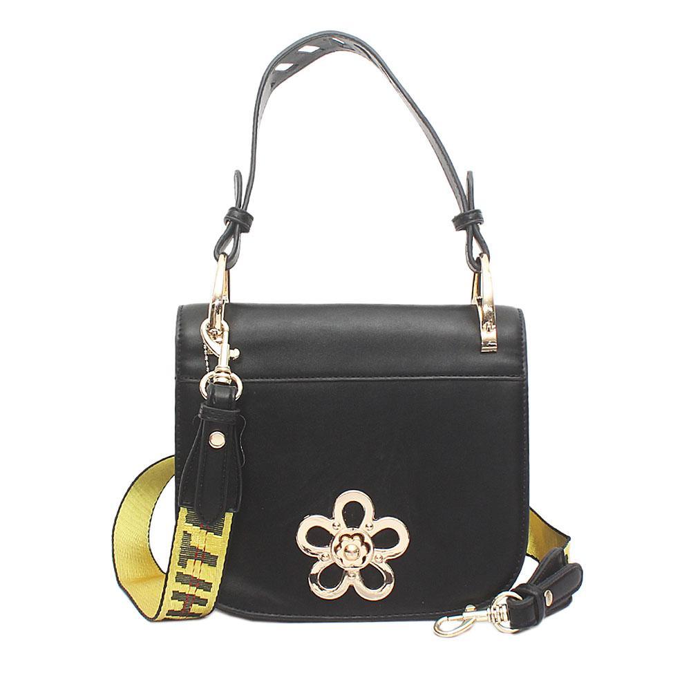 Melrose Black Leather Bag