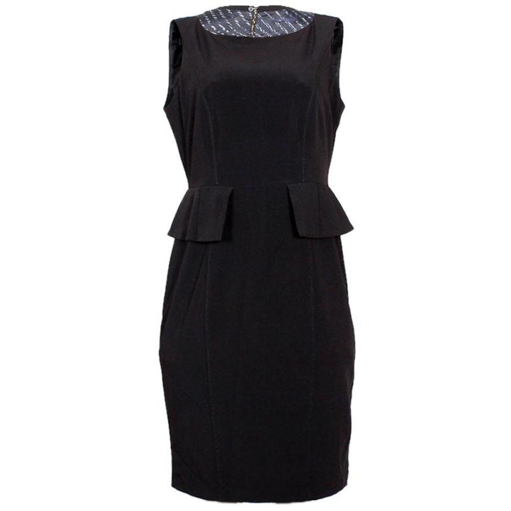 Amazing Per Una Black Dress Part - 11: M U0026amp; S Black Sleeveless Ladies Dress-UK 12