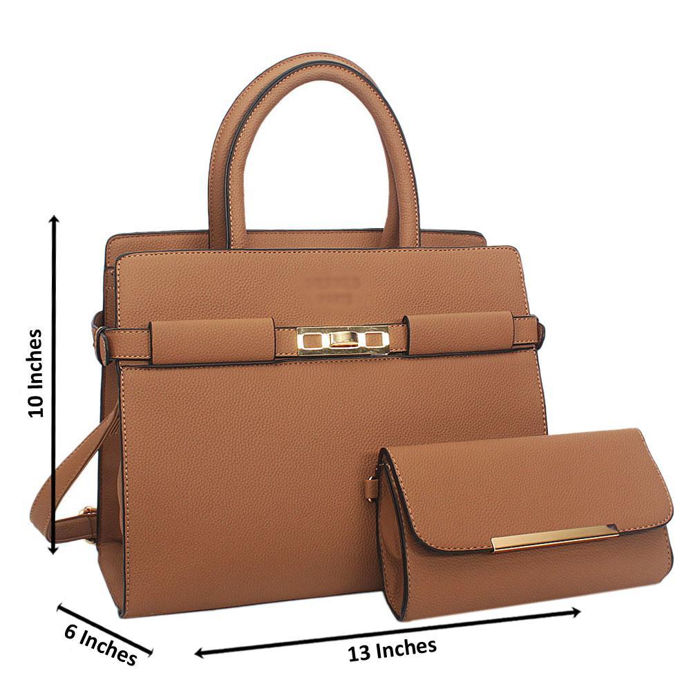 Brown Tuscany Leather Tote Handbag