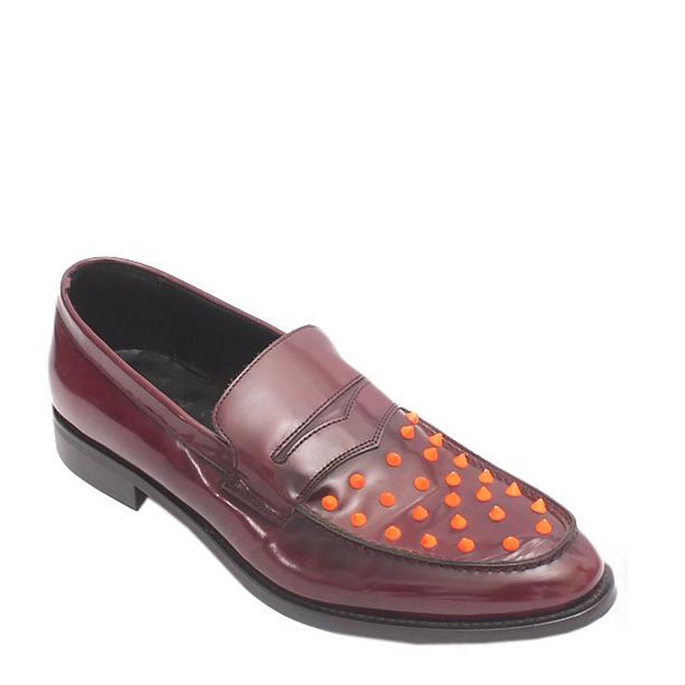 Kurt Geiger Wine Leather Shoe -Sz 44