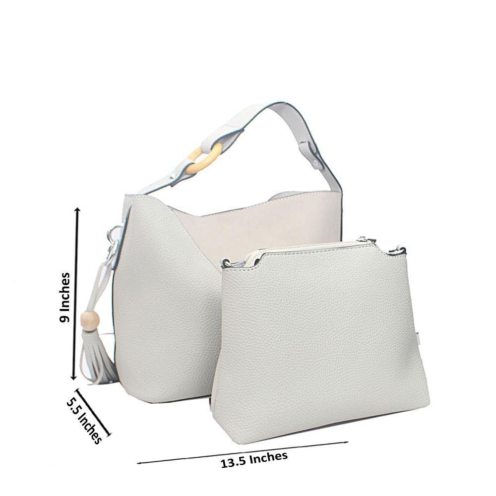 Ash Carmelita Tandy Leather Handbag