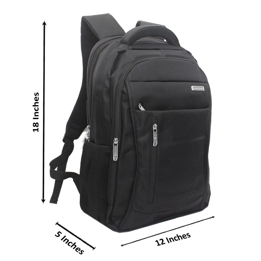 Black-Side-Zip-Bruno-Cavali-Backpack