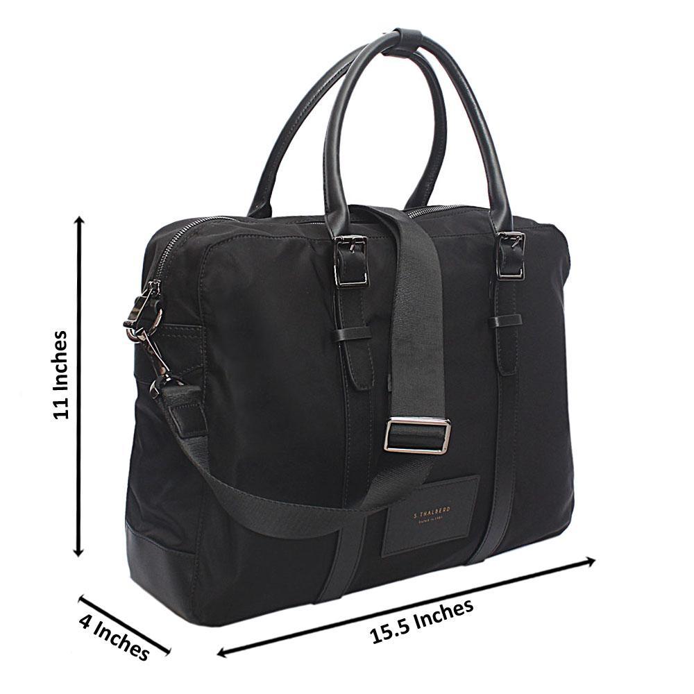 Saint-Halberd-Black-Cordura-Fabric-Man-Bag