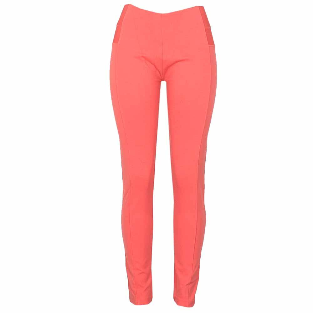 Active Peach Ladies Jeggings-L