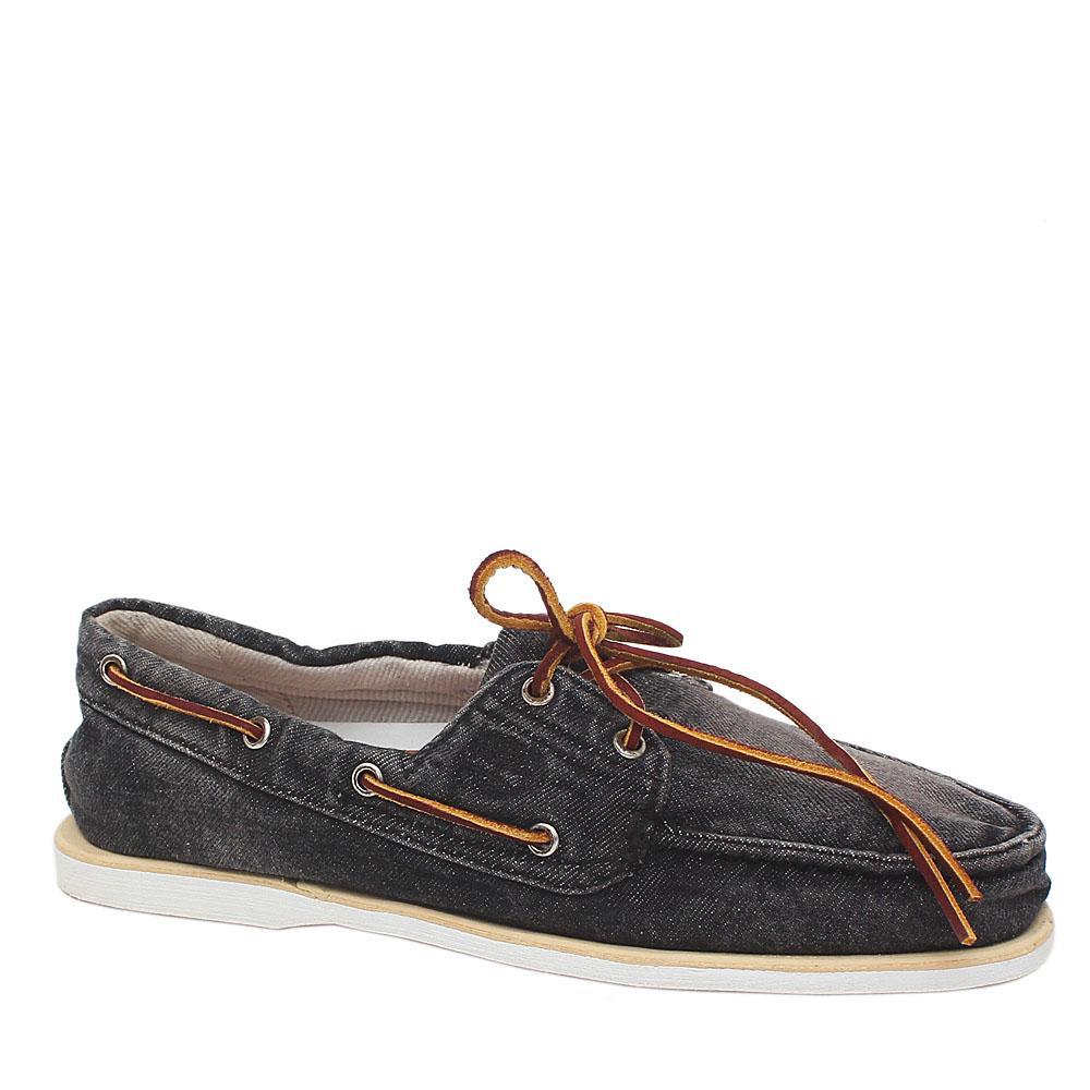 Timberland Black Denim Men Loafers