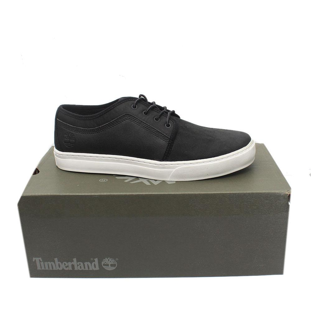 Timberland Black White Premium Leather Sneakers