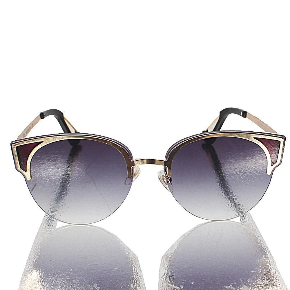 Gold Club Master Dark Lens Sunglasses