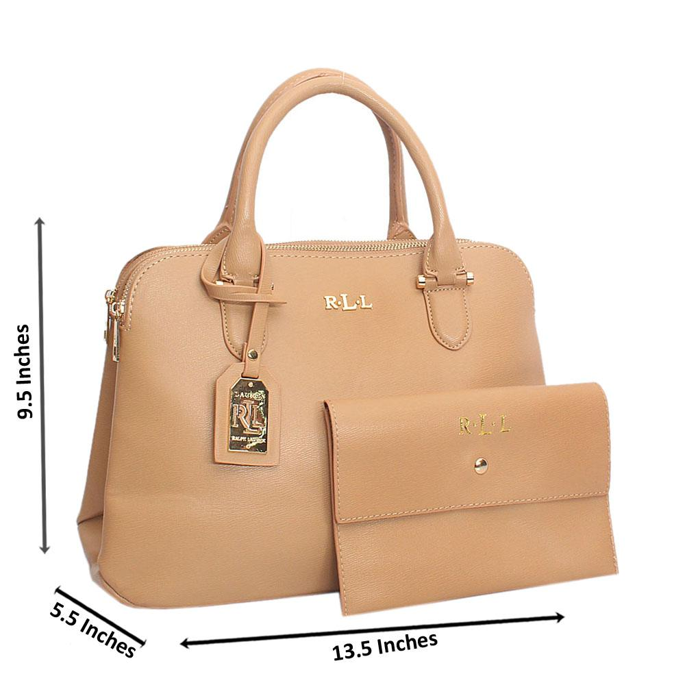 275349647d Buy Camel-Brown-Rll-Aussie-Leather-Handbag - The Bag Shop Nigeria