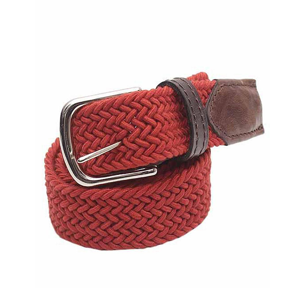 Blue Harbour Red Woven Belt L 36-