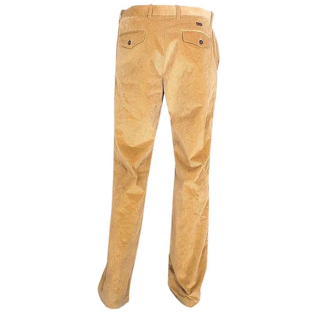 M & S Light Brown Men's Corduroy Straight Trouser