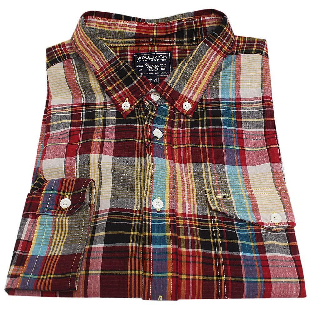 Wool Rich Multicolor L/Sleeve Men Flannel Shirt