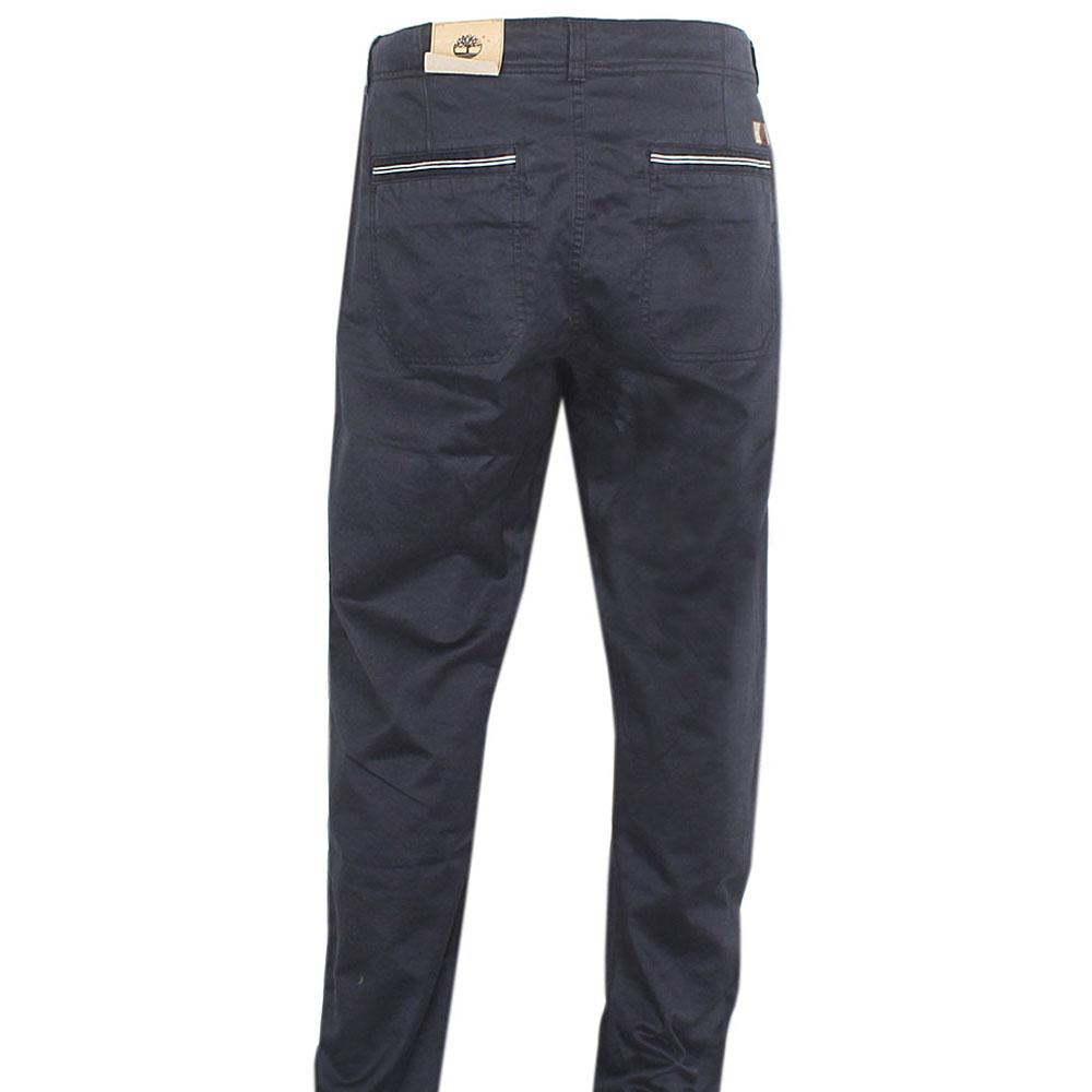 Timberland Navy Blue Men Chinos Trouser