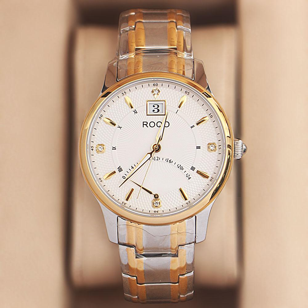 ROQO 2-Tone Sapphire Shanghai Watch