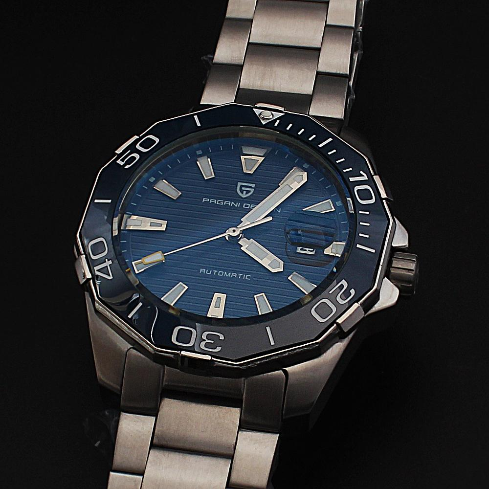 P-Design Stainless Steel Oyster Automatic Watch
