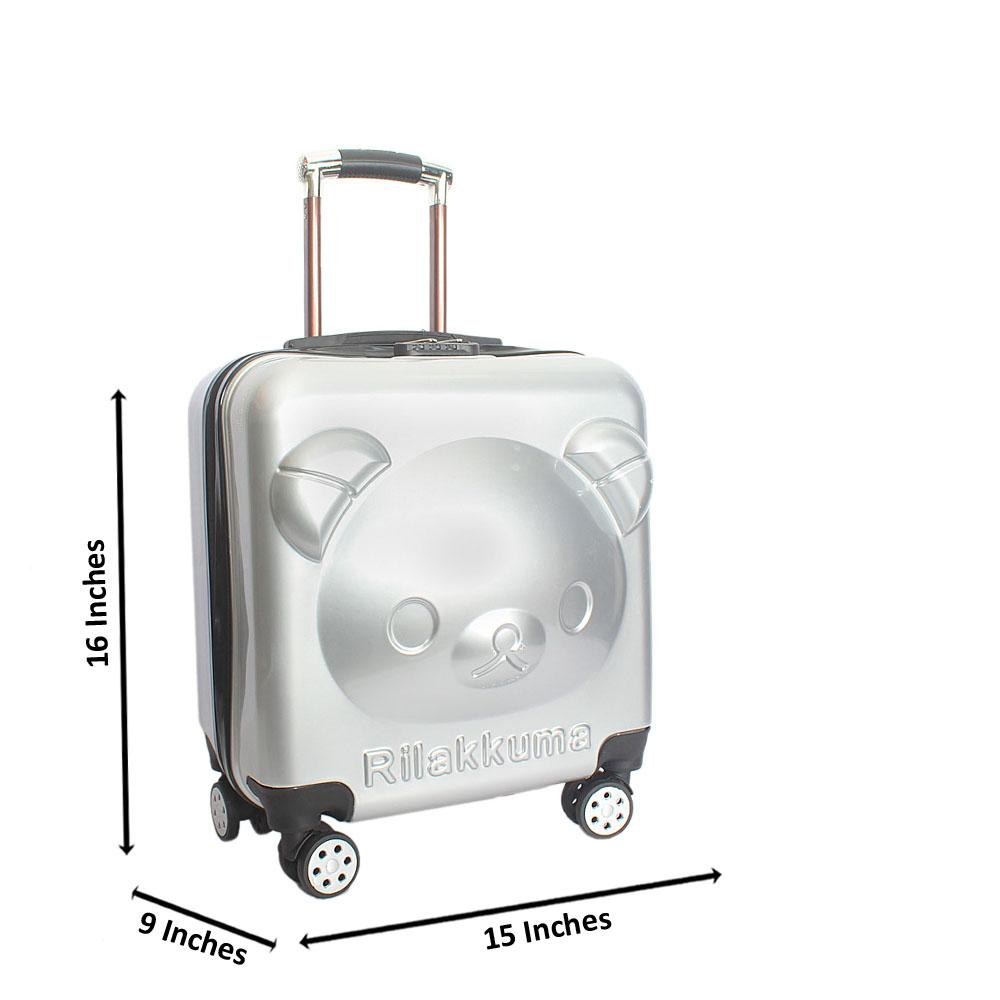 Gray Kiddies Suitcase