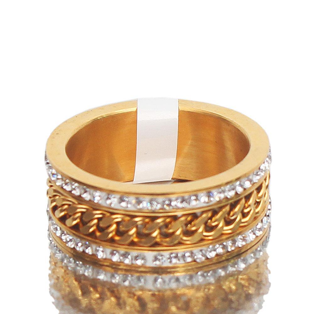 Tudor Gold Studded Ring